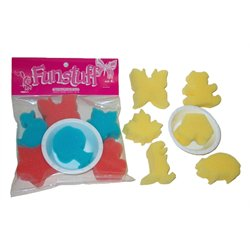 """Funstuff"" Painting Sponge Kit  Set of 6"