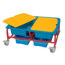 Sand & Water Sensory Table, Primary Colors