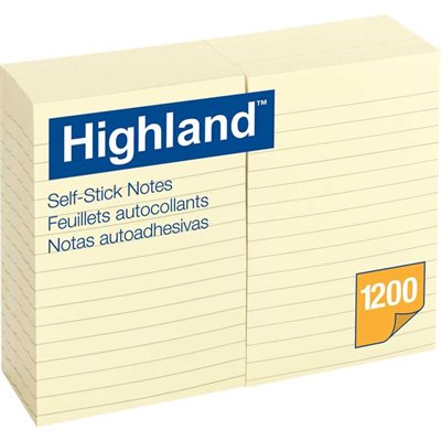 Highland™ Self-Adhesive Notes
