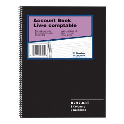 A797 Account Book