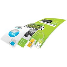 """HeatSeal Ultra Clear"" laminating pouch 5 mil. Box of 100. 9 x 11-1 / 2"""