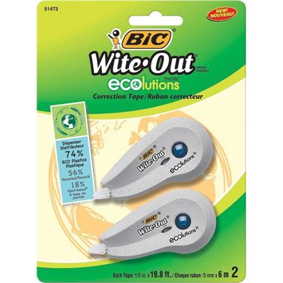 Wite-out® ecolutions™ Mini Correction Tape