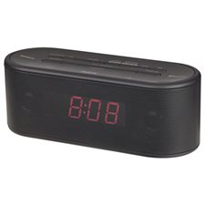Stereo Clock Radio with Bluetooth®