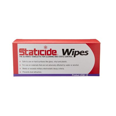 Staticide® Cleaning and Static Control Wipes