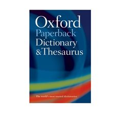 Oxford Dictionary & Thesaurus english dictionary